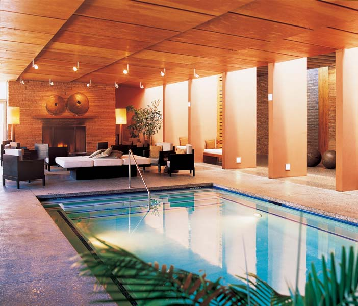 Hotel Room With Private Pool And Hot Tub