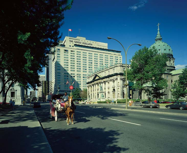 Fairmont The Queen Elizabeth Hotel 5 Star Montreal Hotel