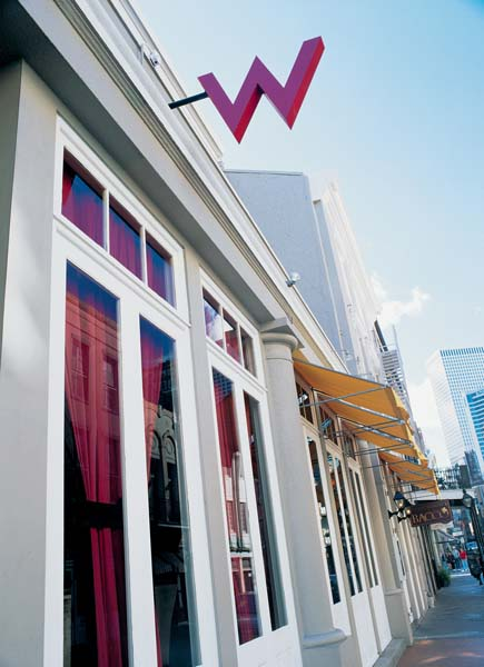 The W Hotel In New Orleans Best W Hotel And New Orleans