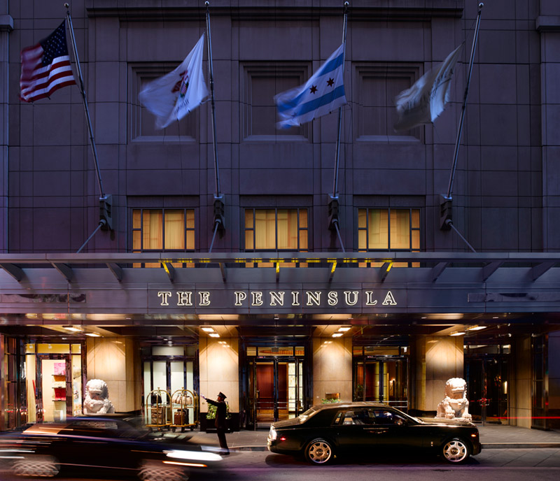 The chicago peninsula find the best peninsula in chicago for Best hotel location in chicago
