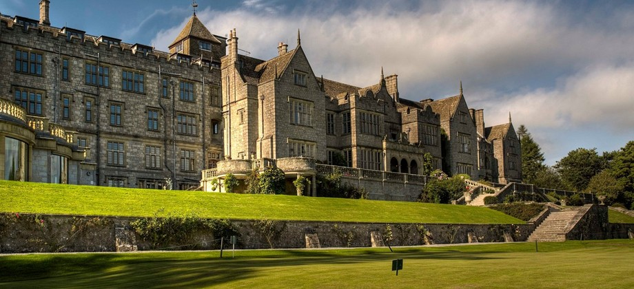 Bovey Castle on Dartmoor National Park Photo