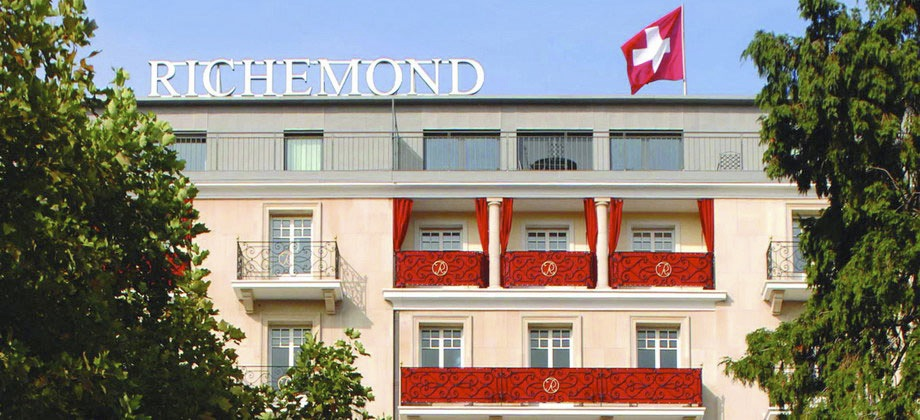 Luxury hotels geneva find the best le richemond rates for Richemond le jardin