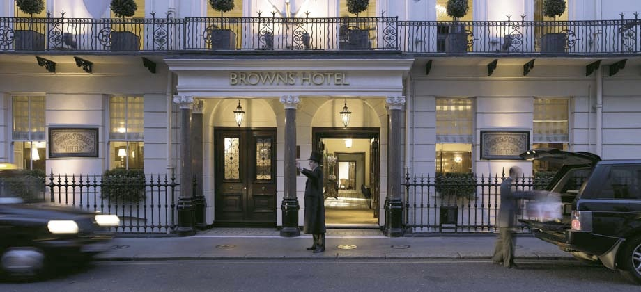 Rocco forte browns find the best rocco forte browns for Hotels 02 london