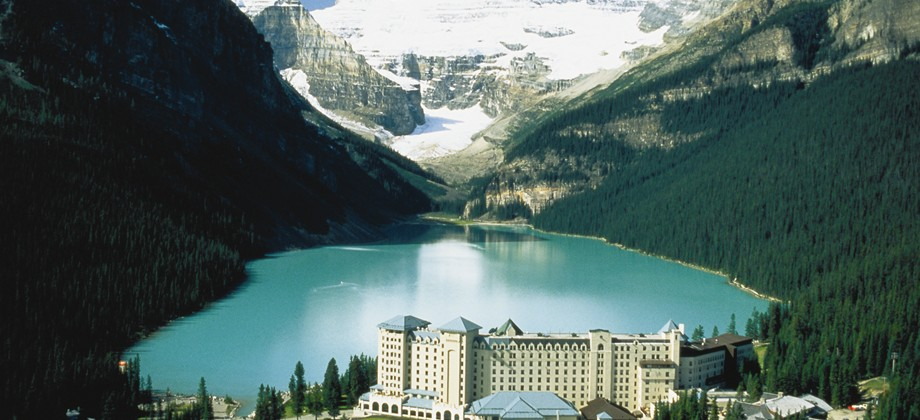 fairmont chateau lake louise alberta canada photo
