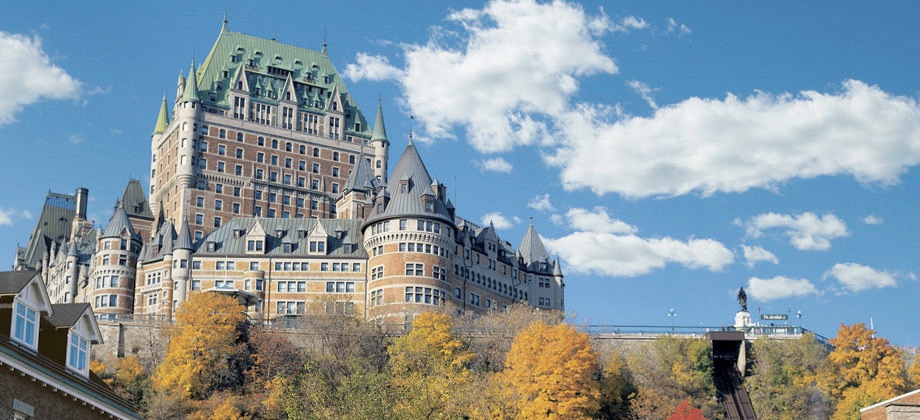 Fairmont Le Cau Frontenac Quebec Canada View Hotel Photo